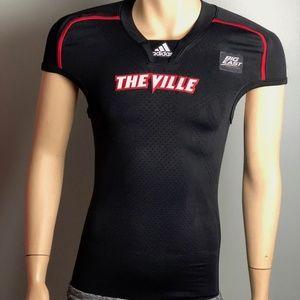 Louisville Cardinals Adidas Techfit Jersey Men S M